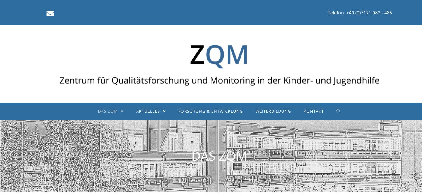 ZQM Gmünd: Neue Kunden-Website online